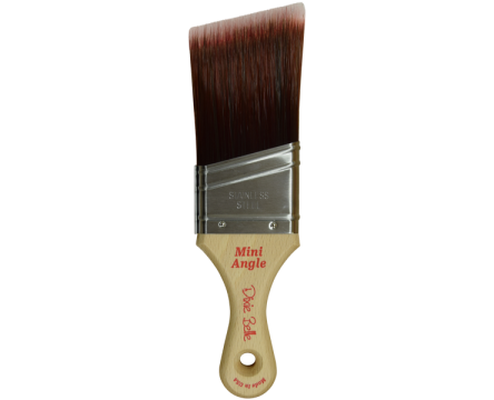 Mini Angle Synthetic Brush (Schuine kwast)