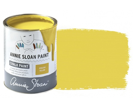 English Yellow Annie Sloan Chalk Paint