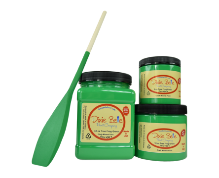 Tree Frog Green (Dixie Belle Chalk Mineral Paint)