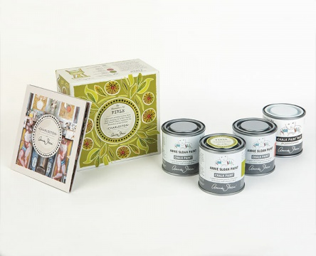 /overig/charleston-firle-set/Annie Sloan With Charleston Decorative Paint Set in Firle 1