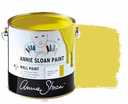 English Yellow Wall Paint Annie Sloan